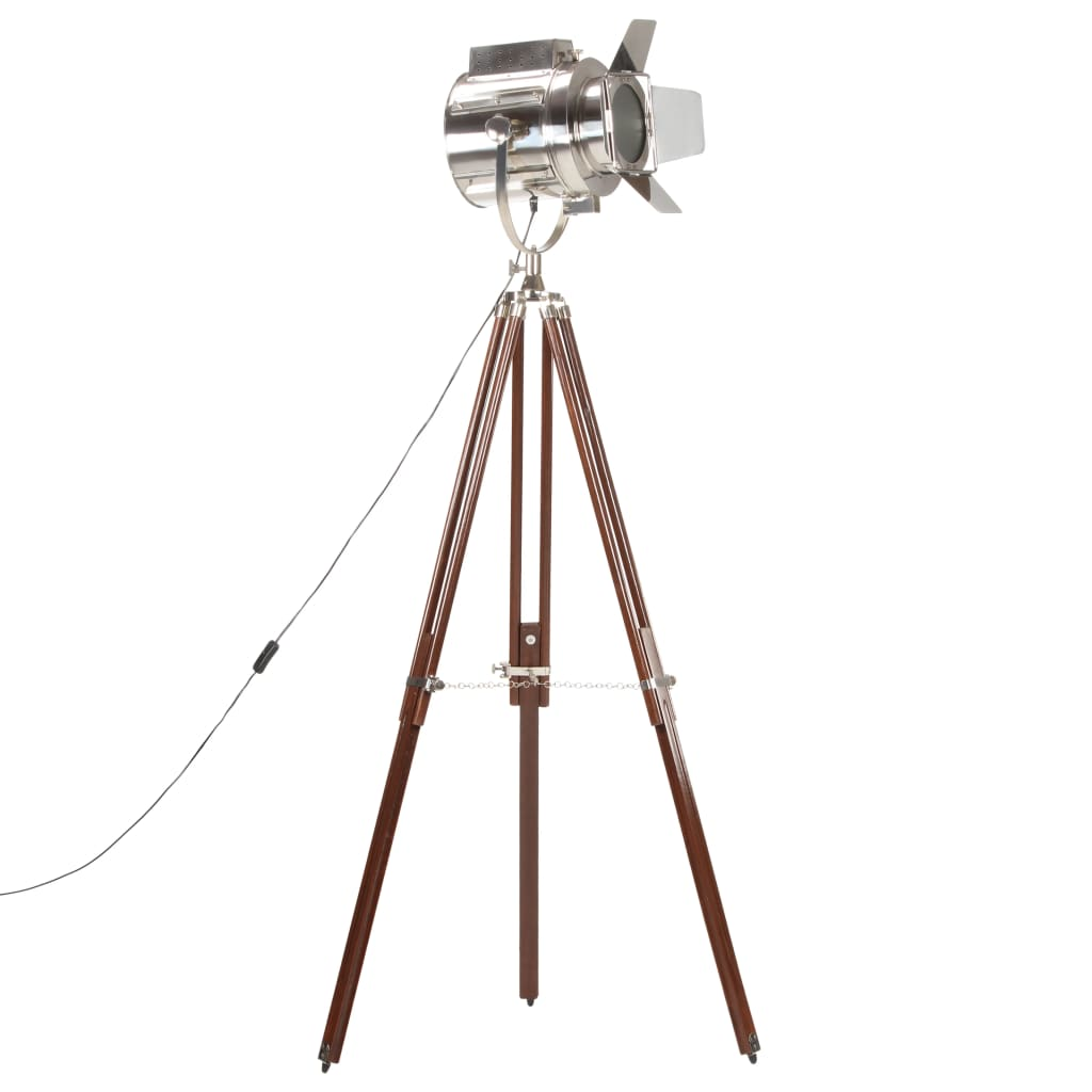 vidaXL Lampa na statíve 180 cm mangovníkový masív