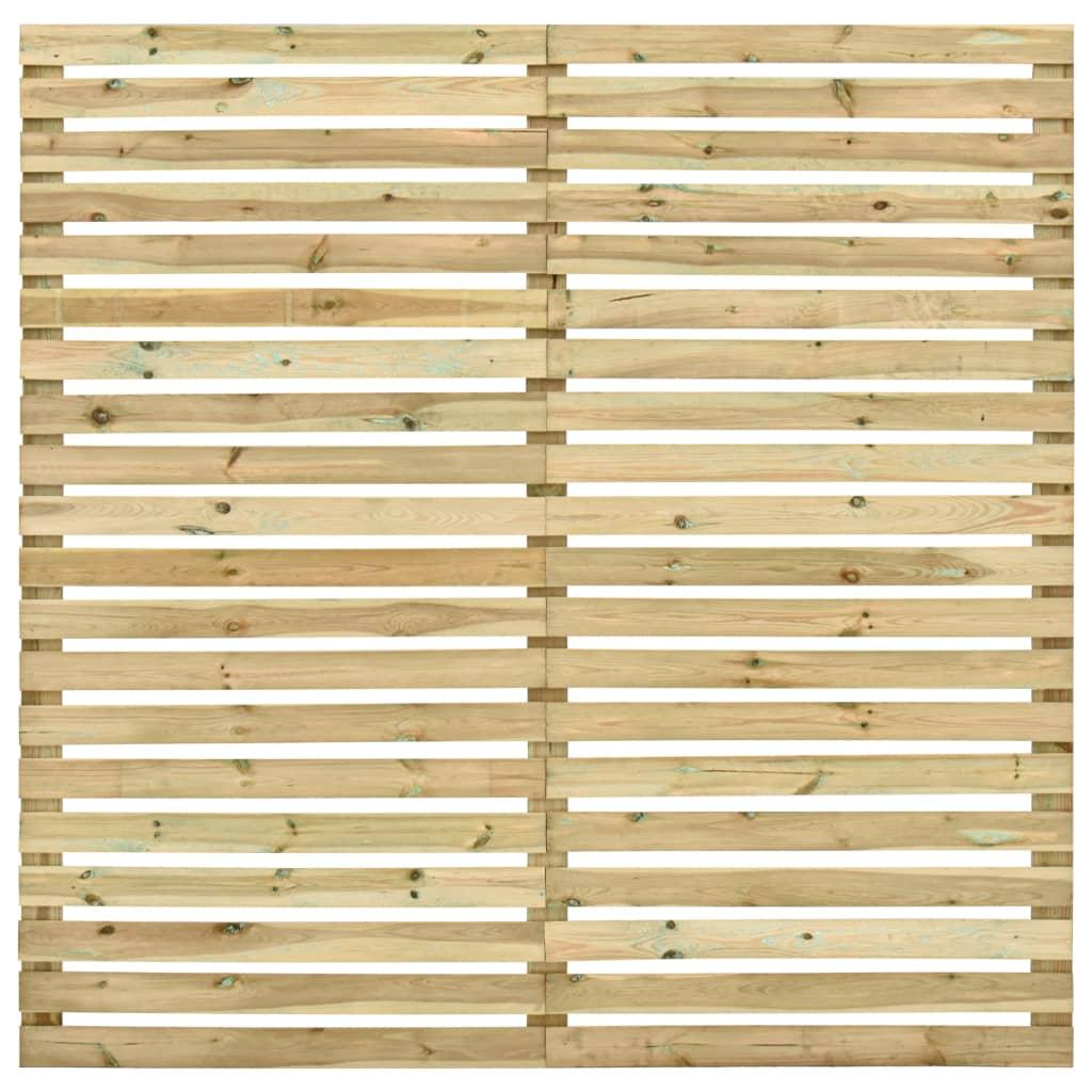 vidaXL Záhradný plotový panel, impregnovaná borovica 180x180 cm
