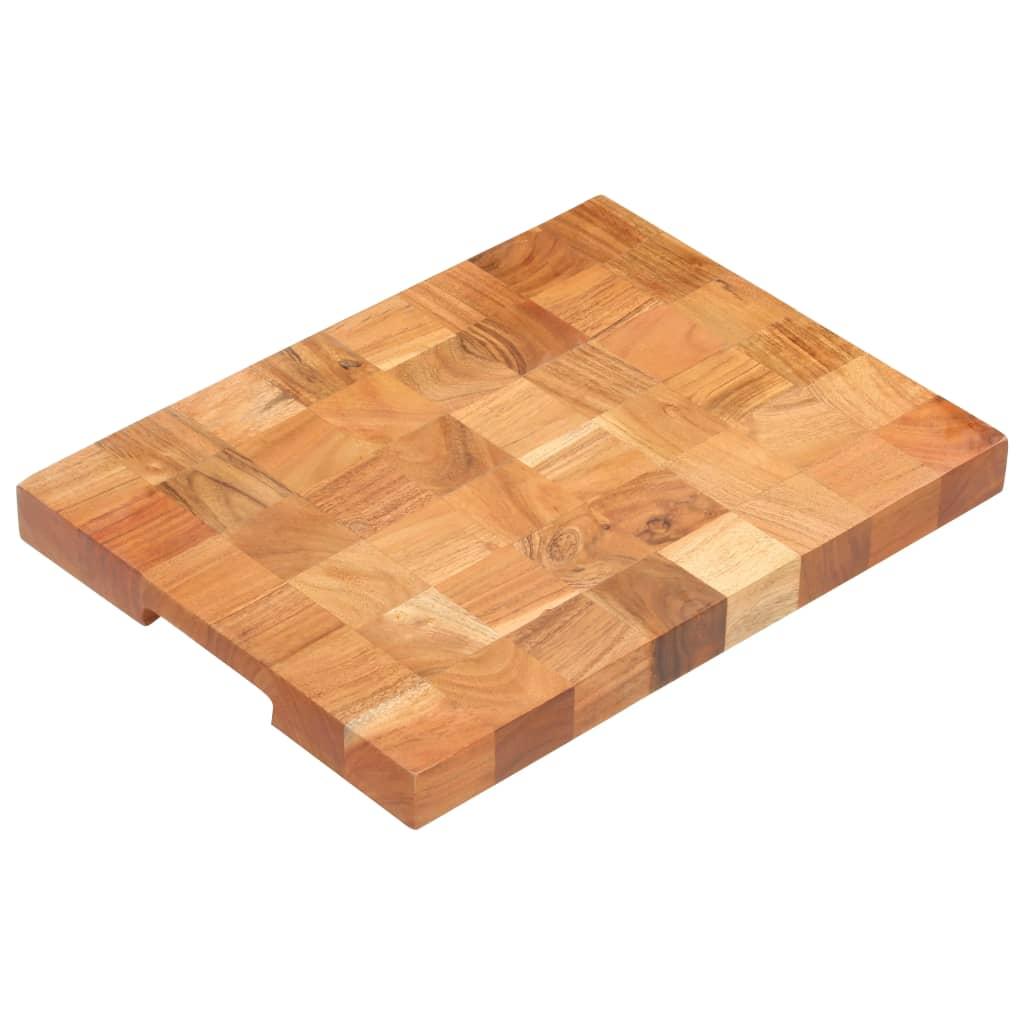 vidaXL Doska na krájanie 40x30x3,8 cm masívne akáciové drevo