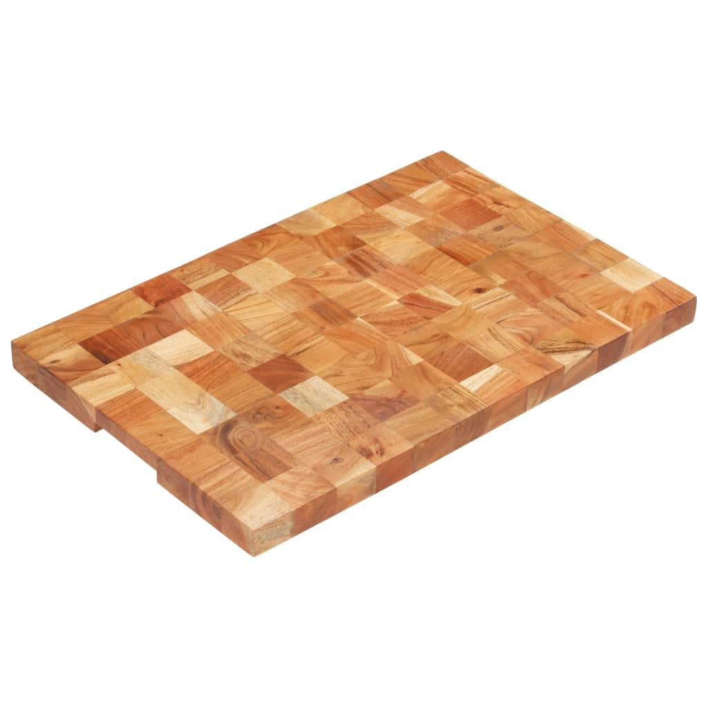 vidaXL Doska na krájanie 60x40x3,8 cm masívne akáciové drevo