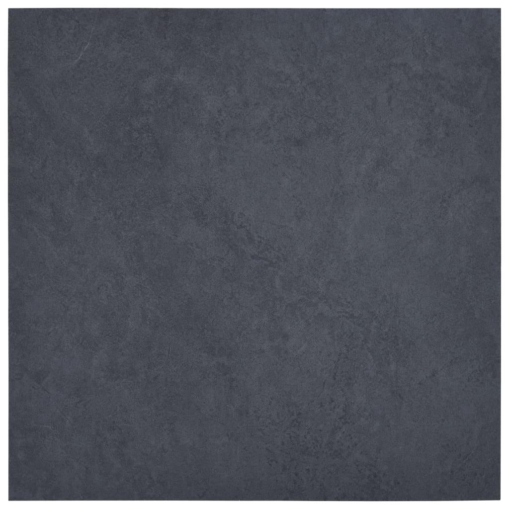 vidaXL Samolepiace podlahové dosky 5,11 m², PVC, čierny mramor