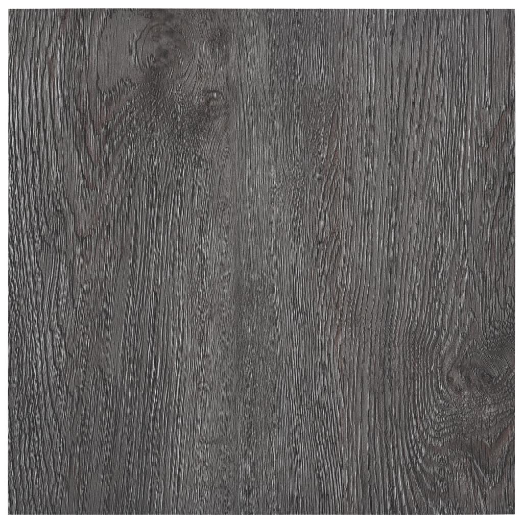 vidaXL Samolepiace podlahové dosky 5,11 m², PVC, hnedé
