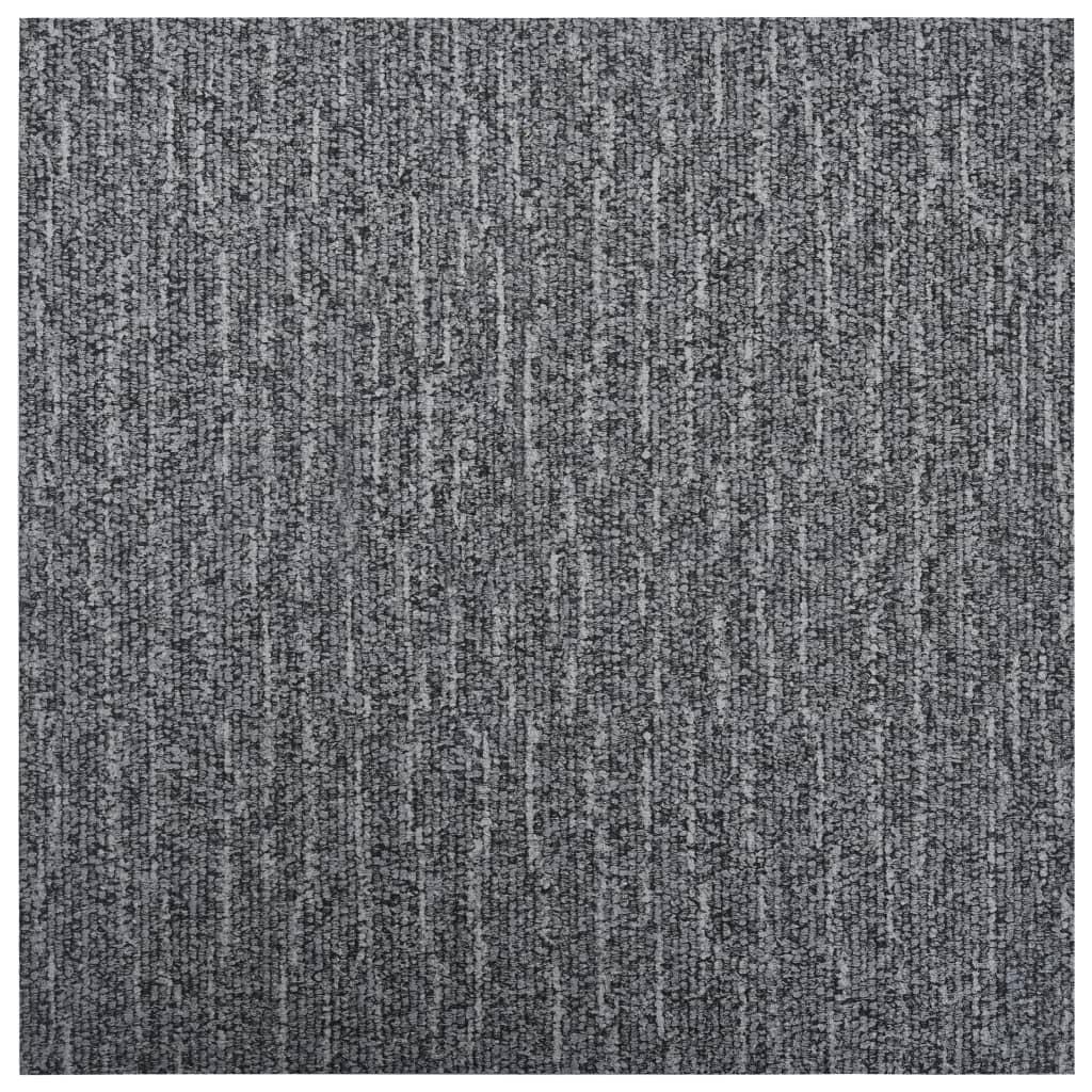 vidaXL Samolepiace podlahové dosky 5,11 m², PVC, sivé