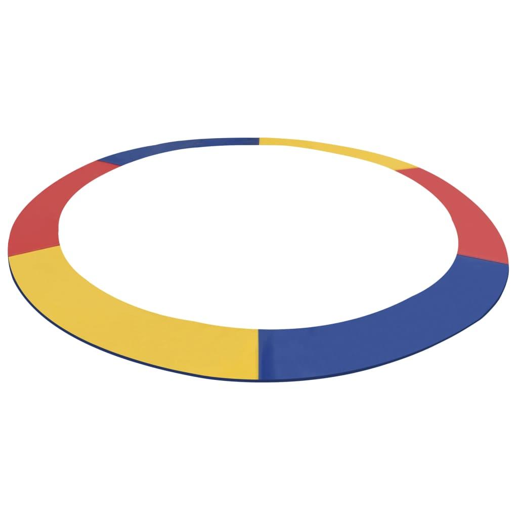 vidaXL Ochranný kryt rôznofarebný PVC pre kruhovú trampolínu 12 stôp / 3,66 m