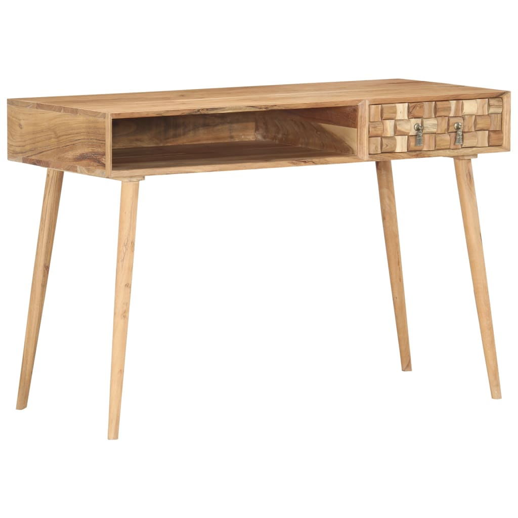 vidaXL Písací stôl 115x50x70 cm masívne akáciové drevo