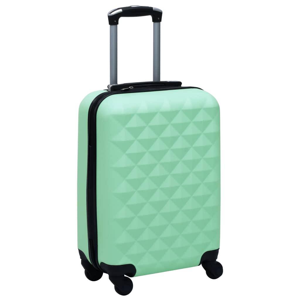 vidaXL Cestovný kufor s tvrdým krytom mätový ABS