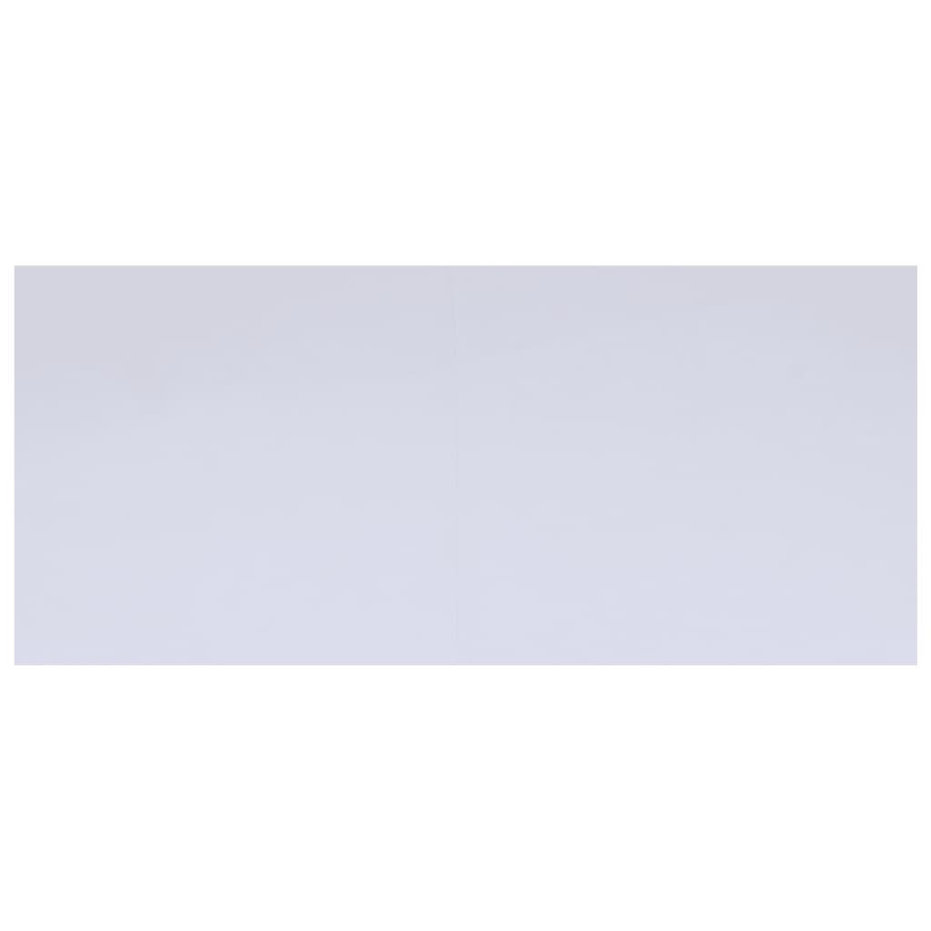 vidaXL Podložka pod bazén, biela 610x360 cm, geotextília