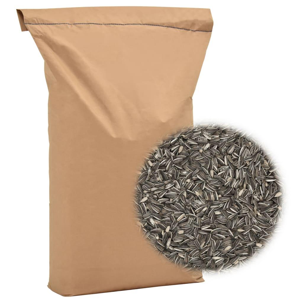 vidaXL Krmivo pre vtáky 25 kg slnečnicové semienka
