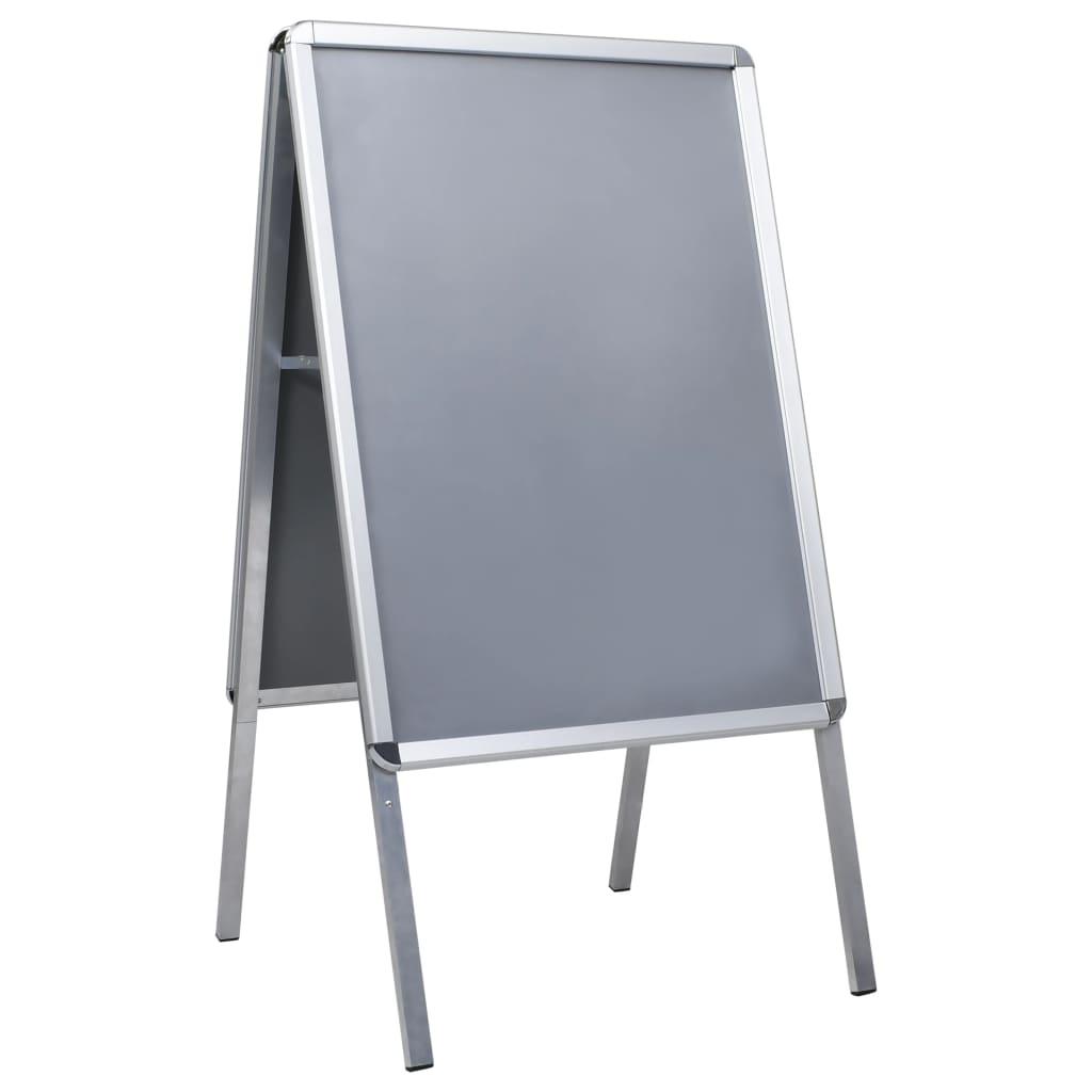 vidaXL Reklamný stojan na plagát A1 hliníkový