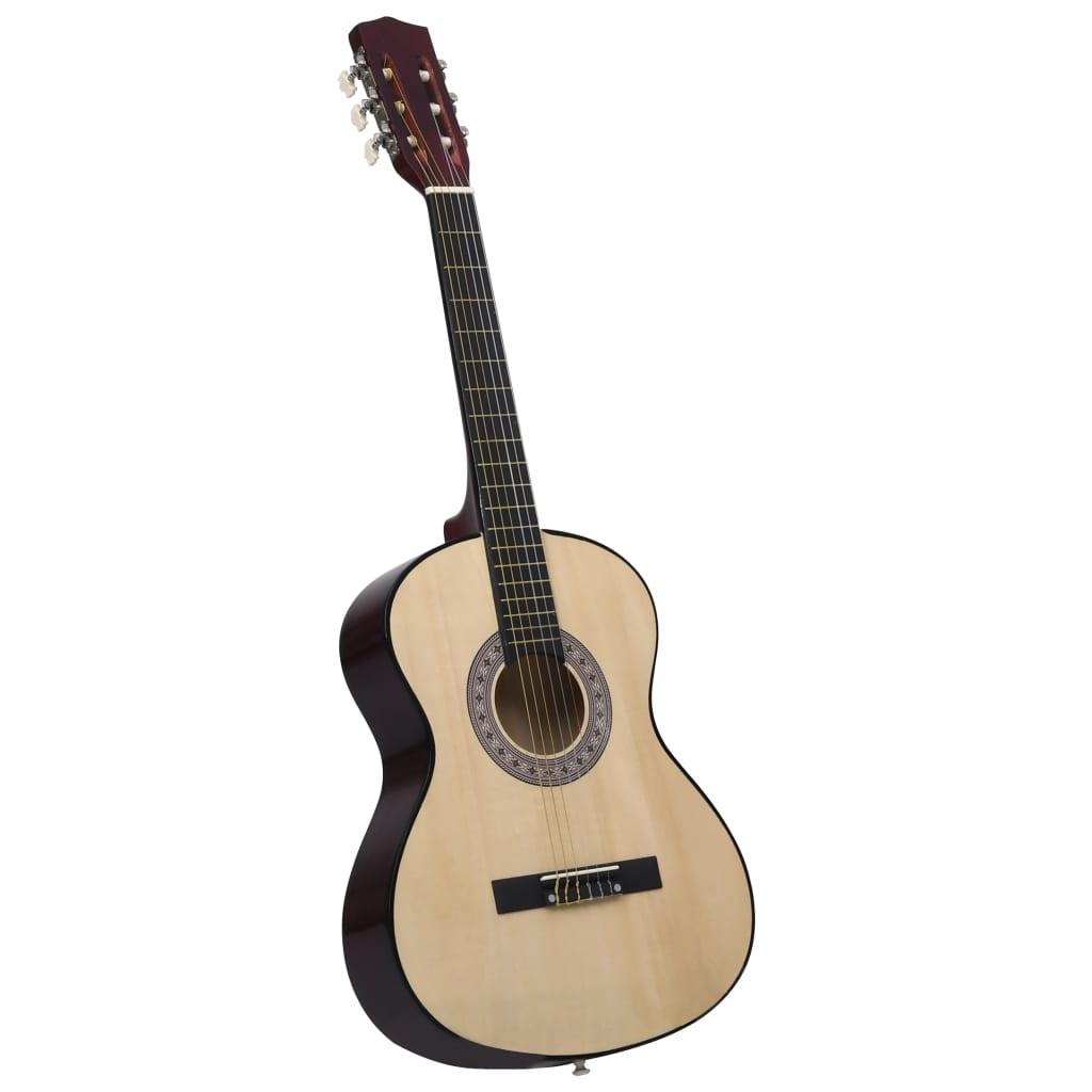 vidaXL Klasická gitara pre začiatočníkov a deti 3/4 36