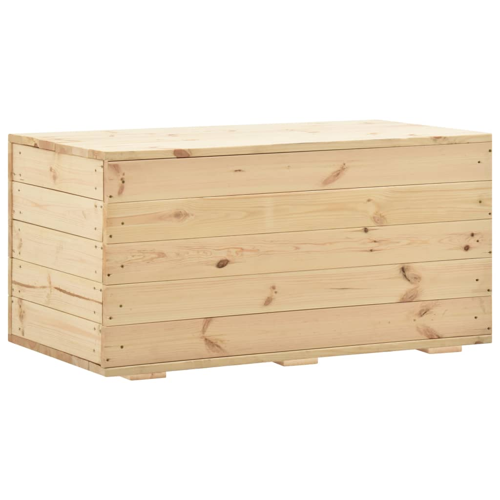 vidaXL Úložný box 100x54x50,7 cm borovicový masív