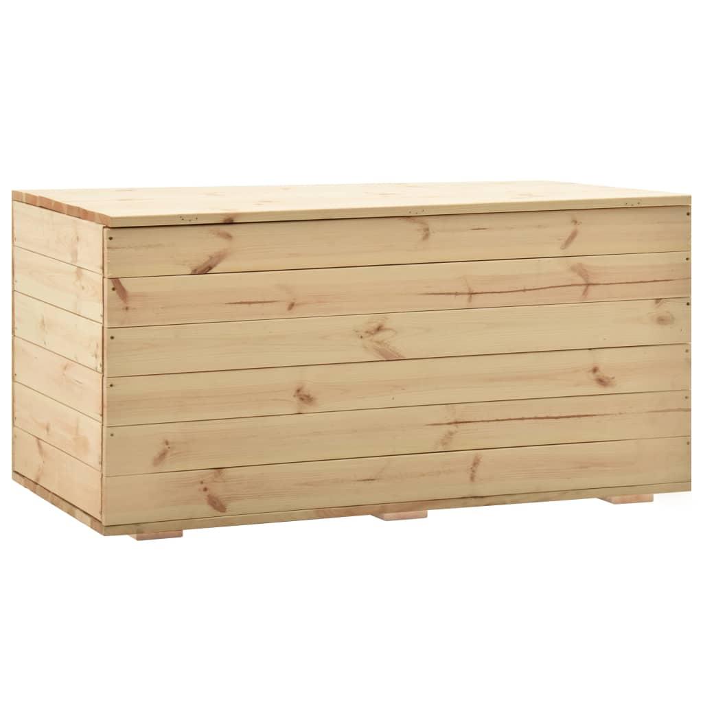 vidaXL Úložný box 120x63x50,7 cm borovicový masív