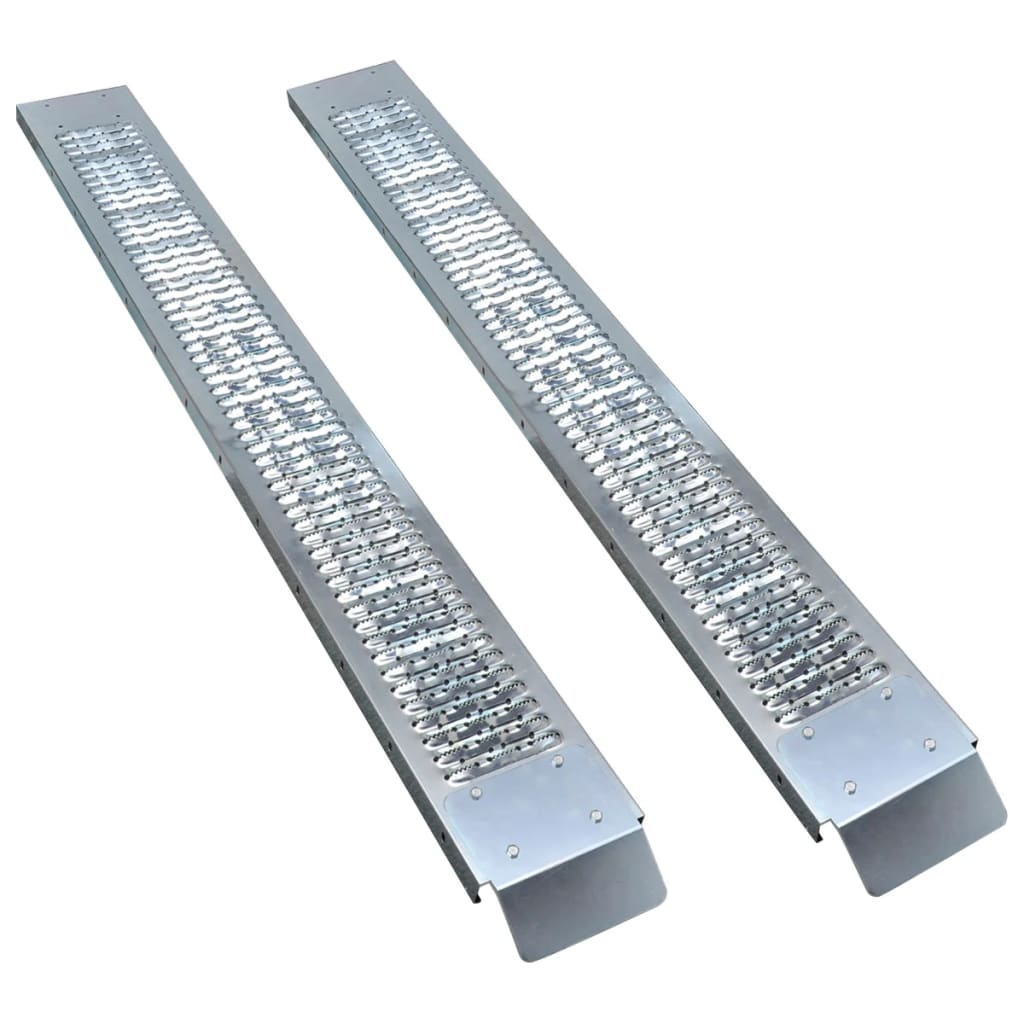 146480 vidaXL Oceľové nakladacie rampy 2 ks 450 kg
