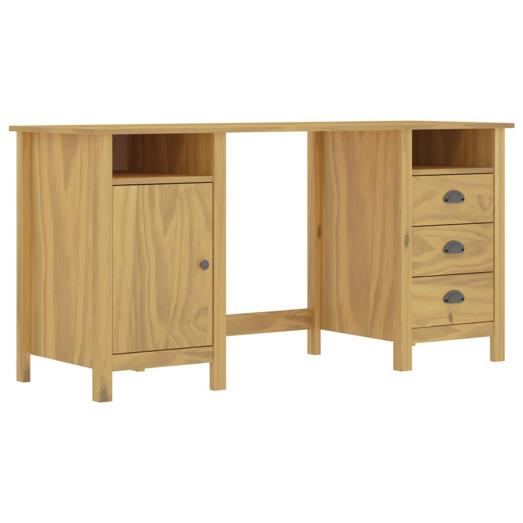 vidaXL Stôl Hill Range medovo-hnedý 150x50x74 cm borovicový masív
