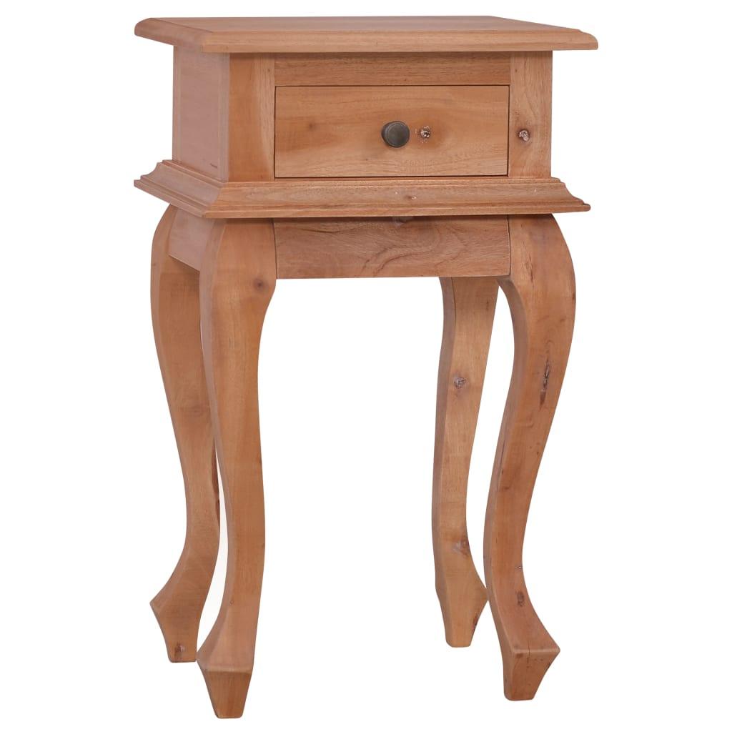 vidaXL Nočný stolík 35x30x60 cm masívne mahagónové drevo