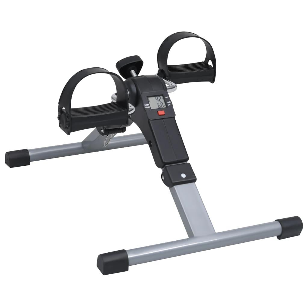 vidaXL Šlapací trenažér pre nohy a ramená s LCD displejom