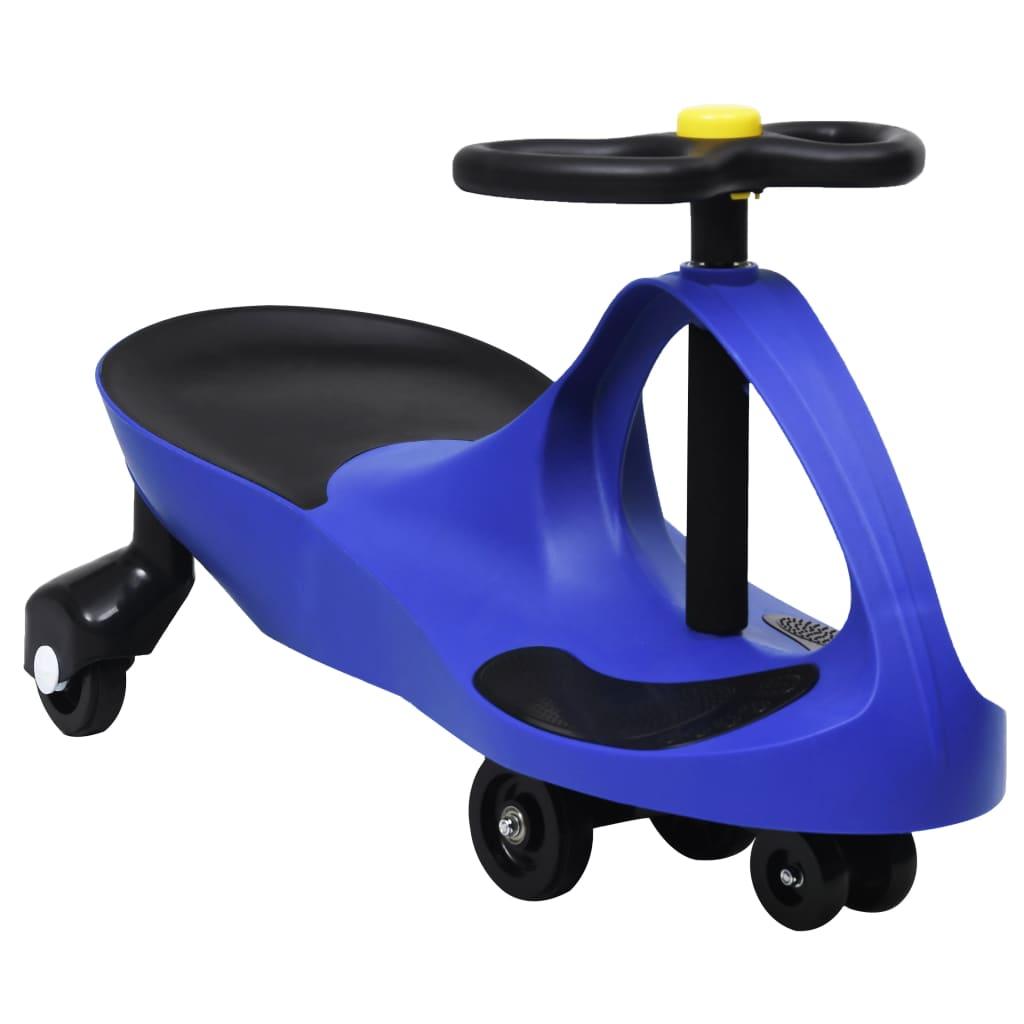 vidaXL Samochodiace autíčko pre deti s klaksónom modré