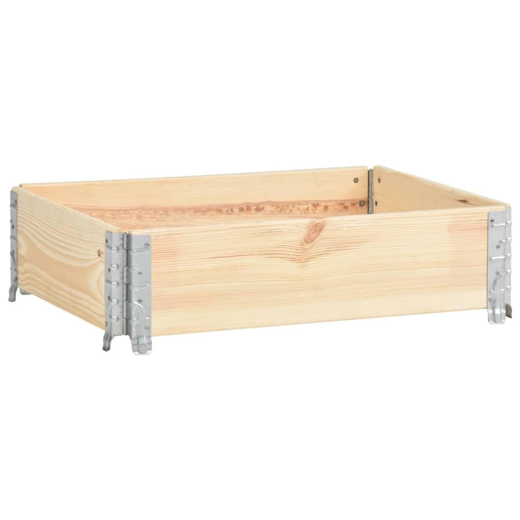 vidaXL Vyvýšený záhon 60x80 cm borovicový masív