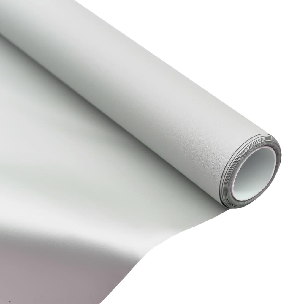 vidaXL Projekčná fólia kovová PVC 100