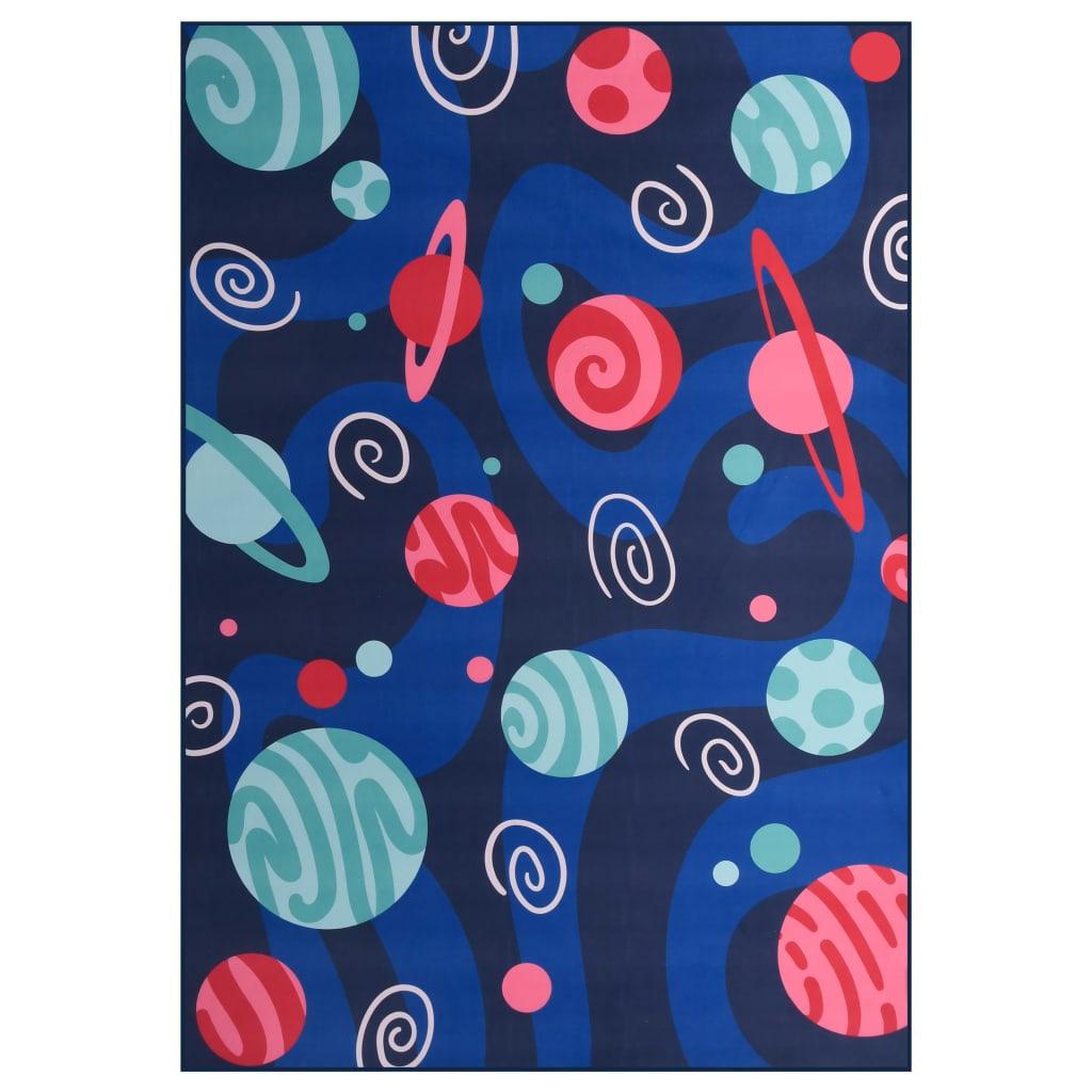 vidaXL Koberec s potlačou, farebný 140x200 cm, látka