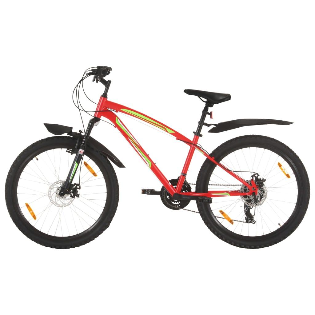 vidaXL Horský bicykel 21 rýchlostí 26
