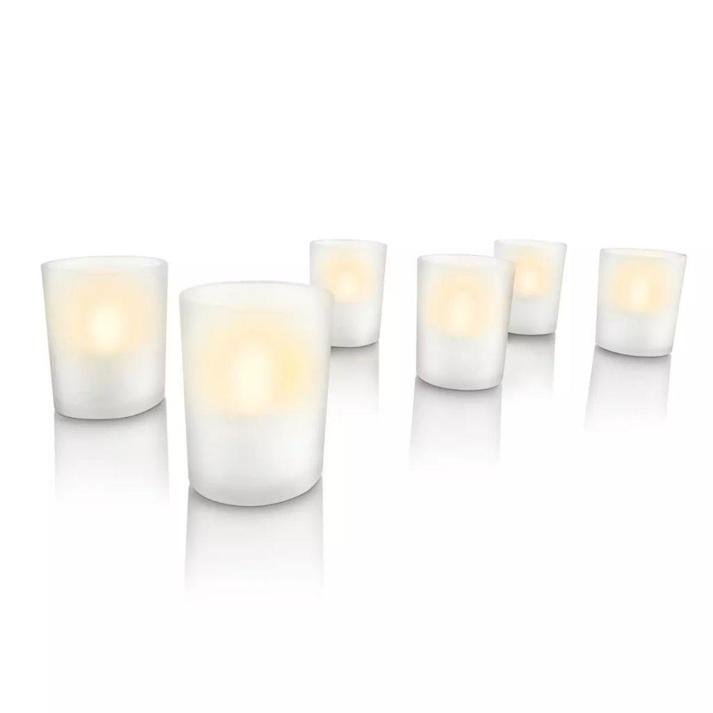 Philips LED sviečka 6 ks biela 6912660PH