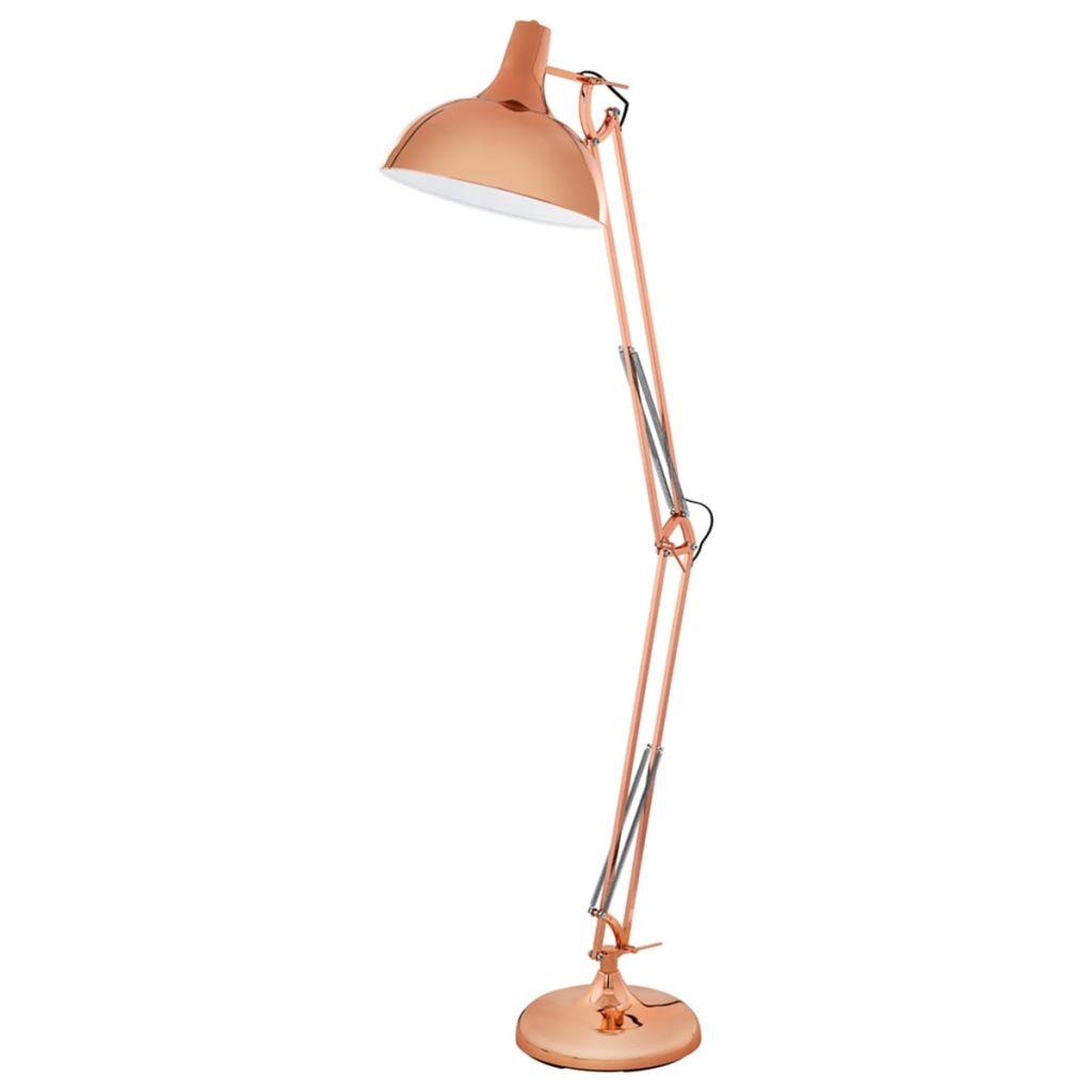 Stojanová lampa medenej farby EGLO Borgillio 94705
