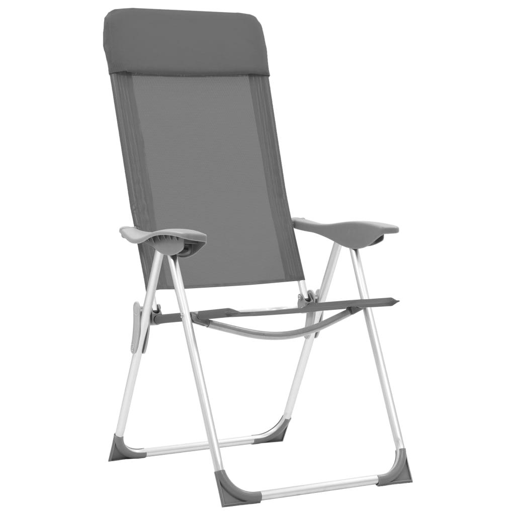 54163770a318 vidaXL Skladacie kempingové stoličky 2 ks